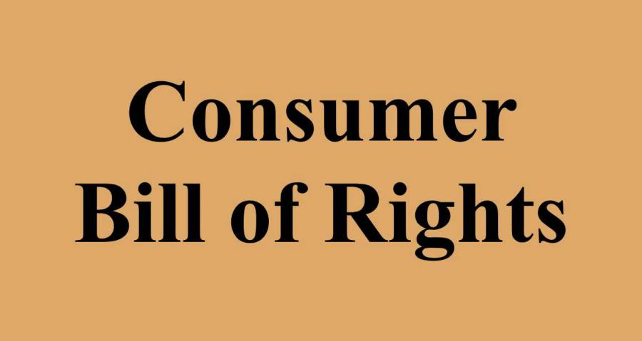 text consumer bill of rights