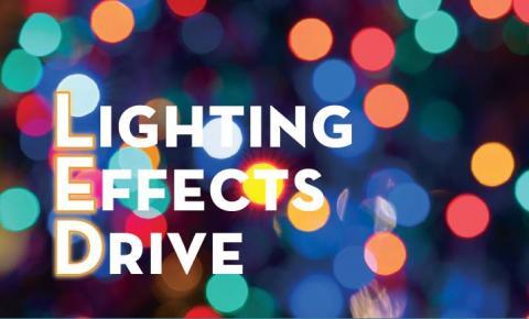 Lighting Effects Drive holiday lights